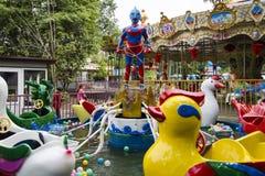 Un parque de atracciones, Chengdu, China Imagen de archivo libre de regalías
