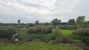 Un parque en finales de septiembre fotografía de archivo