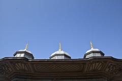 Un particolare del tetto III. della fontana di Ahmet Fotografia Stock