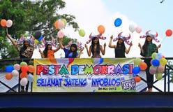 Un partido de democracia Imagen de archivo libre de regalías