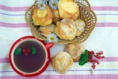 Un partido de té festivo foto de archivo libre de regalías