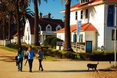 Un paseo en el Presidio en San Francisco Fotos de archivo