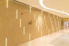 Un pasillo caliente de la tonalidad foto de archivo libre de regalías
