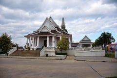 Un pasillo en universidad budista Foto de archivo libre de regalías