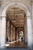 Un passaggio antico a Genova Immagine Stock