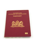 Un passaporto olandese Fotografie Stock