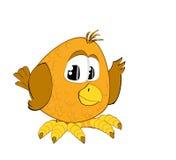 Un passero divertente Fotografie Stock Libere da Diritti