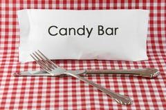 Un pasto della barra di caramella. Fotografia Stock