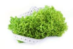 Un pasto sano - insalata fotografie stock