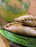 Un patè tradizionale di Karaite Immagine Stock