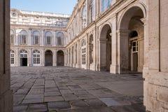 Un patio del palacio Fotos de archivo libres de regalías