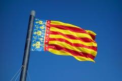Un patriottismo della bandiera in una festa dell'indipendenza Immagine Stock