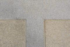 Un pavimento di pietra di due colori Immagini Stock