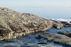 Un paysage avec la rivière Images stock