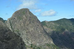 Un paysage d'île de Gomera de La, les Canaries Image stock