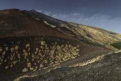 Un paysage de l'Etna photos libres de droits