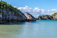 Un paysage marin bermudien photo stock