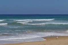 Un paysage marin serein Images libres de droits