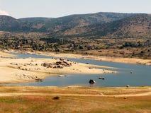 Un paysage paisible de campagne Image stock