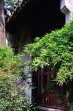 Un paysage prolongé de jardin Photographie stock