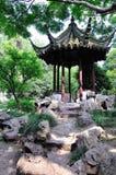 Un paysage prolongé de jardin Photographie stock libre de droits