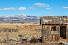 Un paysage rural de l'Utah photographie stock