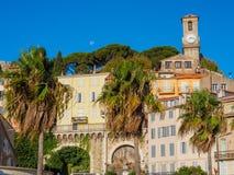 Un paysage urbain de Cannes photo libre de droits