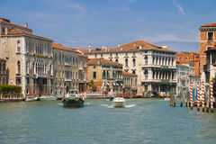 Un paysage urbain de Venise, Italie Photo libre de droits