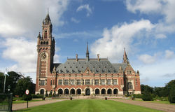 UN Peace Palace royalty free stock photography