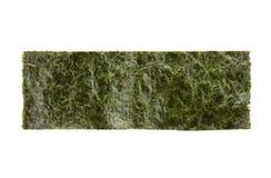 Un pedazo de alga marina secada sazonada Imagenes de archivo
