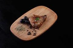 Un pedazo de carne frita foto de archivo libre de regalías