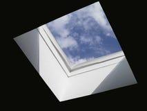 Un pedazo de cielo Imagen de archivo libre de regalías