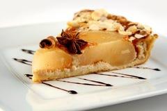 Un pedazo de empanada de manzana Imagen de archivo