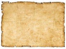 Un pedazo de papel antiguo. Ilustración del Vector
