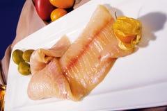 Un pedazo de pescados Fotos de archivo