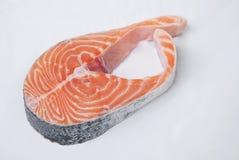 Un pedazo de salmones imagen de archivo libre de regalías