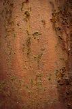 Un pedazo oxidado de acero Imagen de archivo
