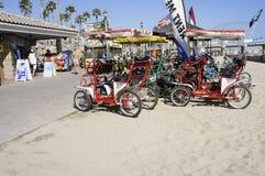 Un Pedicabs de réserve Photo libre de droits