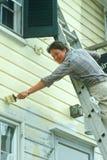 Un peintre de maison Image libre de droits