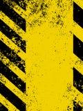 Un peligro sucio y gastado raya textura. EPS 8 Foto de archivo libre de regalías
