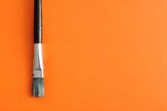 Un pennello Fotografie Stock Libere da Diritti