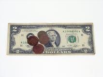 Un penny enregistré est un penny gagné Image stock