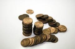 Un penny salvato Fotografia Stock