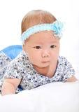 Un pequeño bebé Imagen de archivo