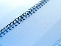 Un pequeño cuaderno espiral Imagen de archivo