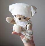 Un pequeño oso de peluche precioso Fotos de archivo libres de regalías