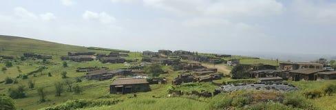 Un pequeño pueblo Fotografía de archivo libre de regalías