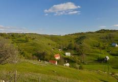 Un pequeño pueblo en Montenegro Fotos de archivo