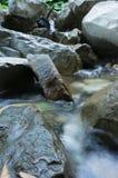 Un pequeño río de la montaña Fotos de archivo libres de regalías