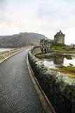 Un percorso al castello Fotografia Stock